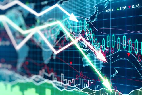 Securities Stock Crash Image