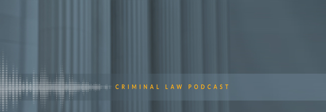 Criminal Law Podcast Cover