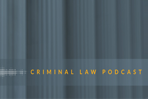 Criminal Defense Law Podcast Cover