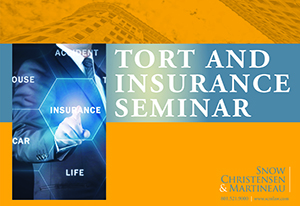 Click icon to view Tort and Insurance Seminar Resources